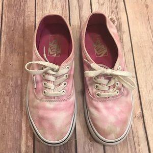 Vans Pink Tie-Dye 4.5Y- 6 Woman's